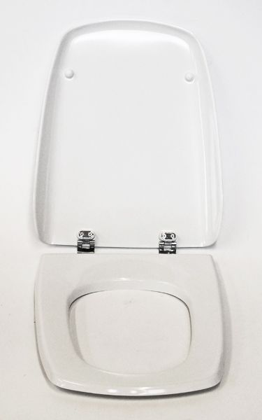 Ideal Standard Accent Aero Toilet Seat White Chrome Hinges
